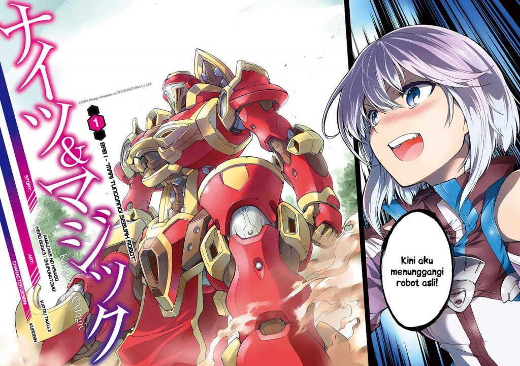 Komik Knight's & Magic